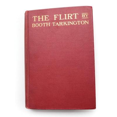 """Signed """"The Flirt"""" by Booth Tarkington, 1913"""