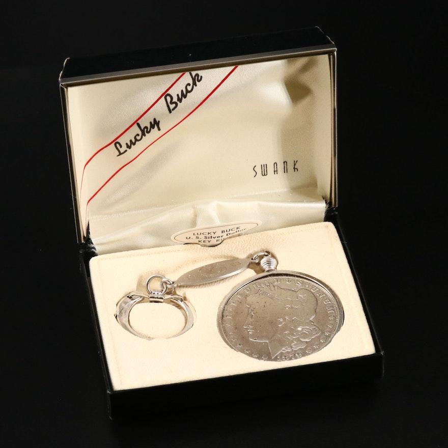 1879 Morgan Silver Dollar Key Chain
