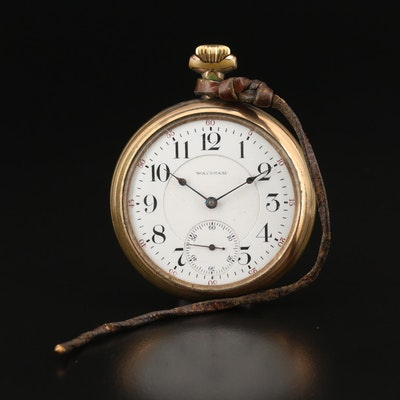 1904 Waltham Gold Filled Railroad Grade Pocket Watch