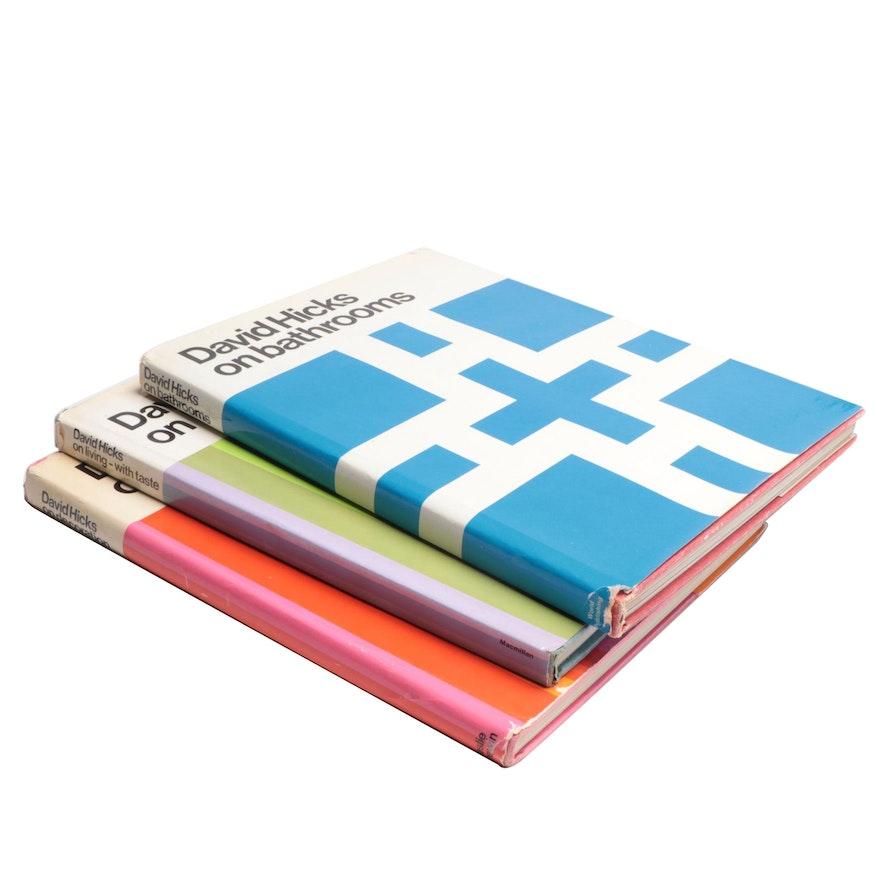 David Hicks Decor and Design Book Collection