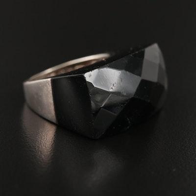 Sterling Black Onyx Ring