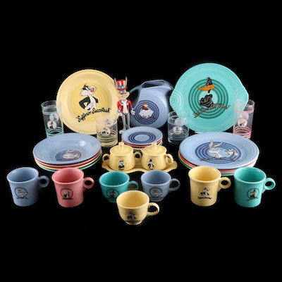 "Homer Laughlin ""Looney Toons"" Fiestaware and Table Accessories"