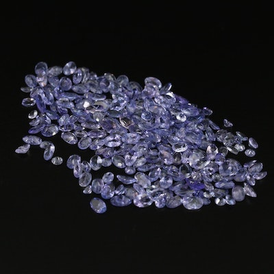 Loose 37.90 CTW Faceted Tanzanites