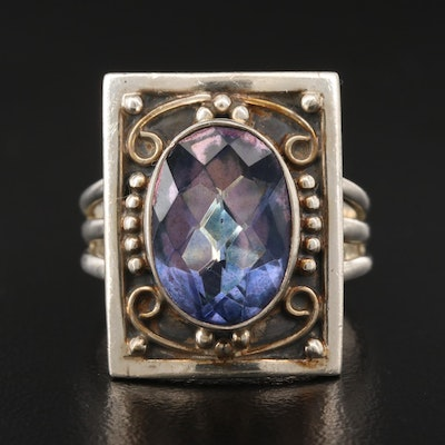 Nicky Butler Sterling Silver Quartz Ring