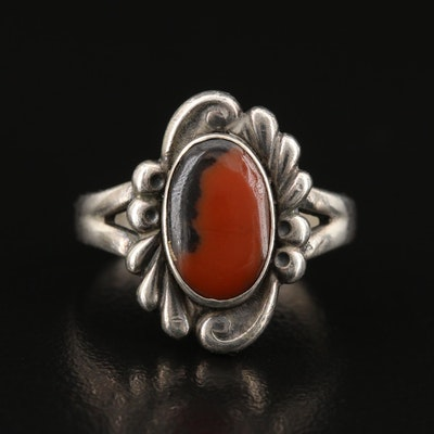 Bell Trading Post Sterling Silver Jasper Ring