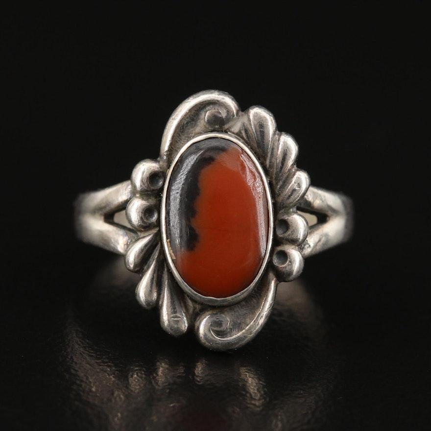 Bell Trading Post Sterling Silver Jasper Ring