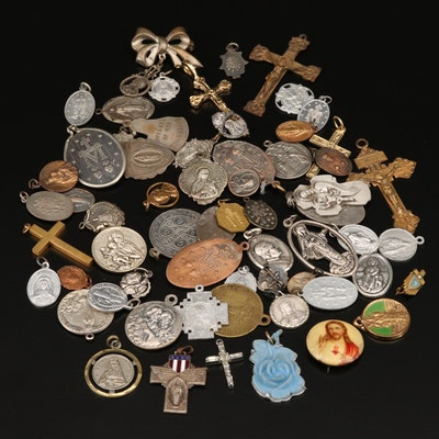 Ecclesiastical Cross Pendants, Medallions and Pins