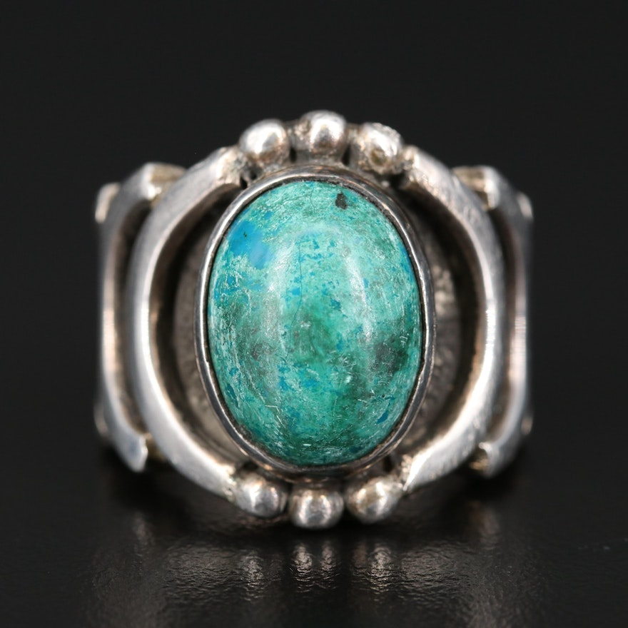 Sterling Eilat Stone Ring