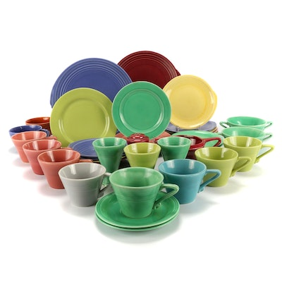 """Homer Laughlin """"Fiesta"""" Tableware and Other Accessories"""