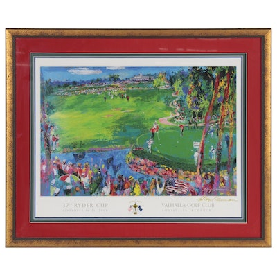 LeRoy Neiman Ryder Cup Valhalla Golf Club Poster, 2008