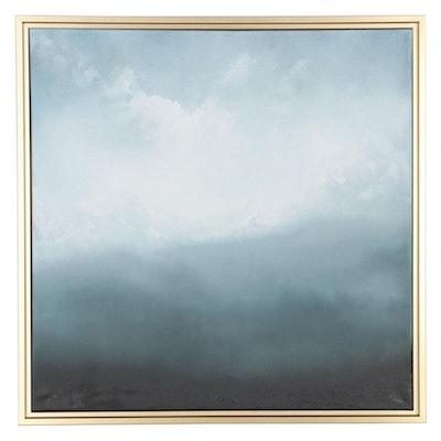 "Sarah Brown Oil Painting ""Serenity,"" 21st Century"