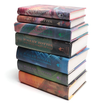 "Complete ""Harry Potter"" Series by J. K. Rowling with Book Club Editions"
