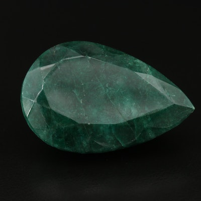 Loose Pear Faceted Beryl