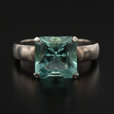 Sterling Silver Spinel Ring