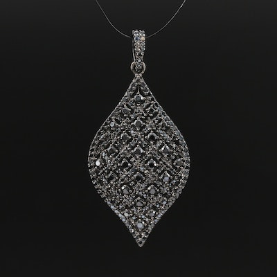 Sterling Silver Spinel Pendant