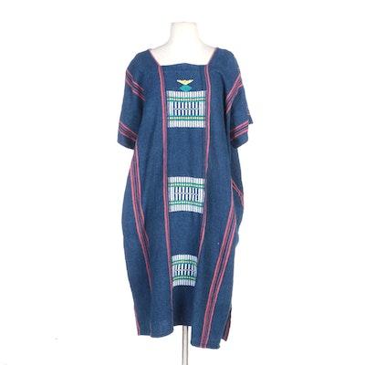 Woven Shift Dress in Multicolor