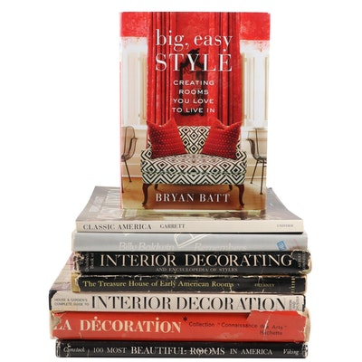 Interior Design and Decorating Book Collection