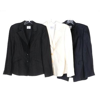 Giorgio Armani Collezioni Linen and Rayon Blend Jackets
