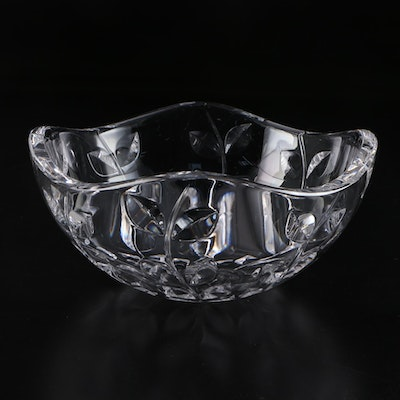 "Josef Riedel for Tiffany & Co. ""Floral Vine"" Crystal Bowl"