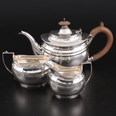 C. S. Harris & Sons Ltd. for Tiffany & Co. Sterling Silver Tea Set, 1920s