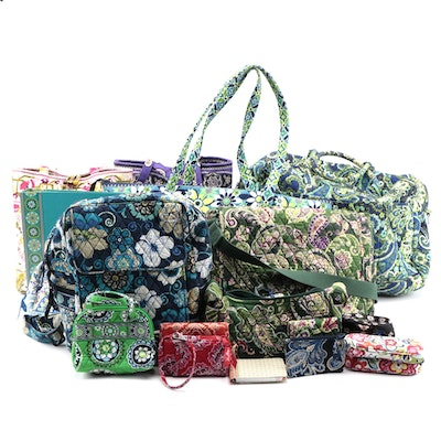 Vera Bradley Signature Cotton Bags and Accessories with More