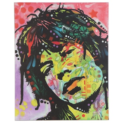 "Pop Art Giclée after Dean Russo ""Mick Jagger"""