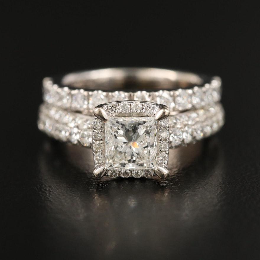 14K 2.94 CTW Diamond Ring