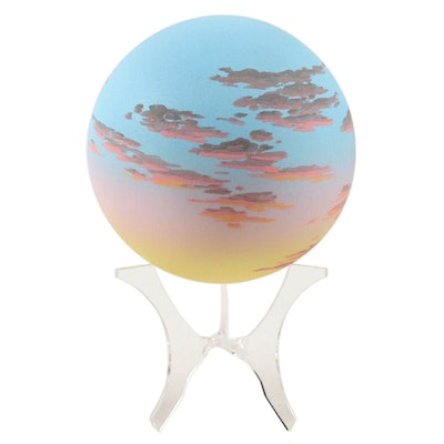 Dan Jones Hand-Painted Porcelain Sphere