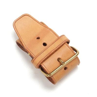 Louis Vuitton Poignet in Vachetta Leather