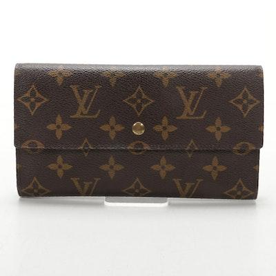 Louis Vuitton Portefeuille International in Monogram Canvas