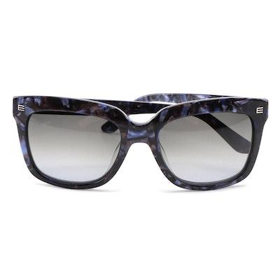 ETRO ET611S Marble Violet Acetate Frame Sunglasses with Gradient Lenses