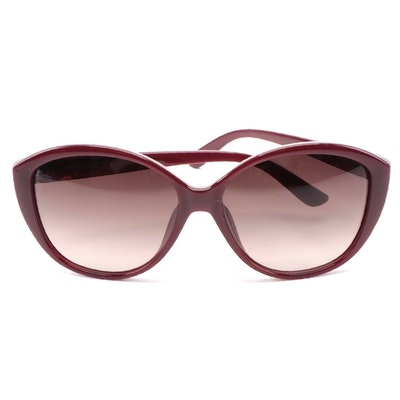 ETRO ET612SK Bordeaux Acetate Butterfly Frame Sunglasses