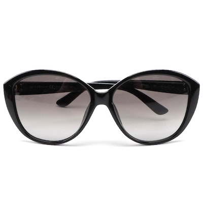 ETRO ET612SK Black Acetate Frame Sunglasses with Gradient Lenses