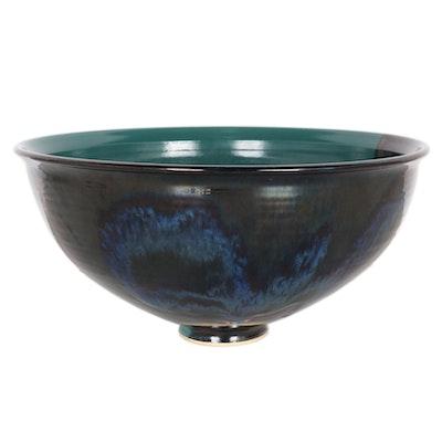 Claudia Cartee KA Pottery Southern Blossom Pot, 1994
