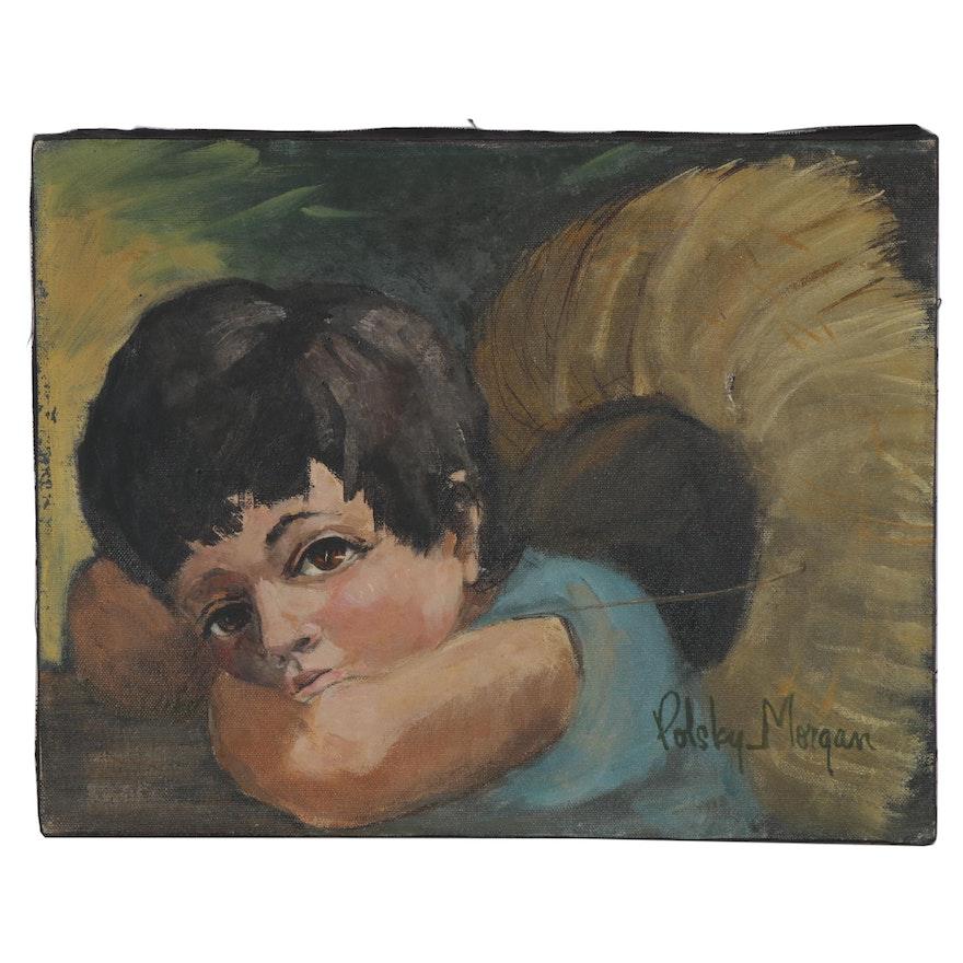 "Polsky Morgan Oil Portrait ""Joselito"""