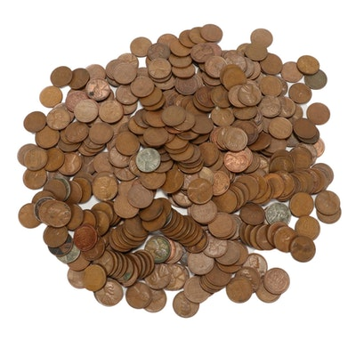400 Lincoln Wheat Cents, 1930s–1950s