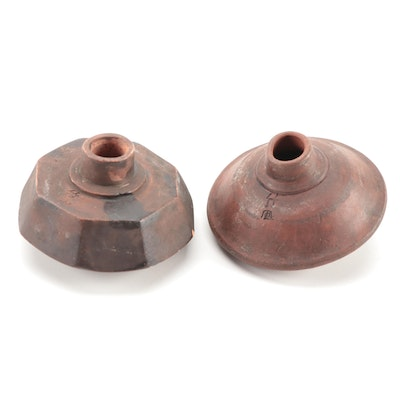 Southern Chinese Ceramic Opium Pipe Bowls