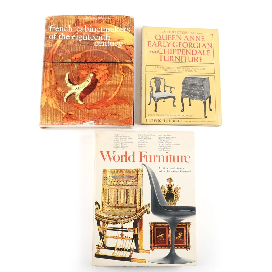 Furniture and Decorative Arts Reference Book Collection
