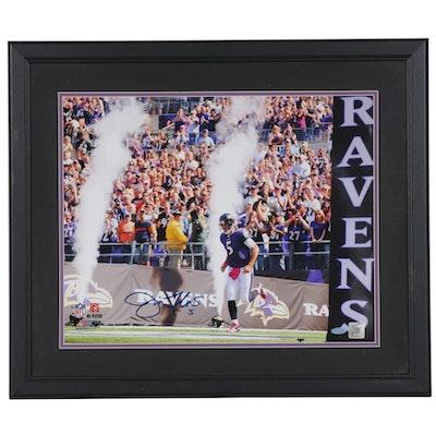 Joe Flacco Autographed NFL Ravens Photograph