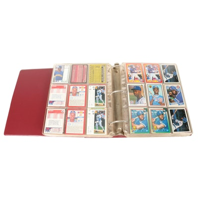 1970s-1990s Baseball Cards with Stars and Hall of Fame Players