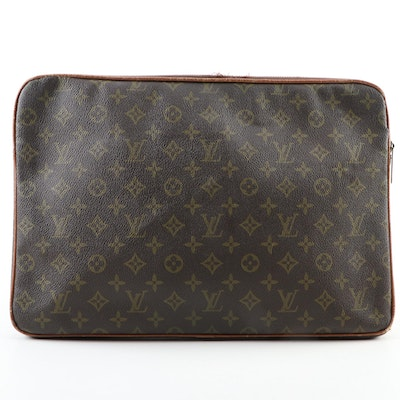The French Company for Louis Vuitton Portfolio in Monogram Canvas and Leather