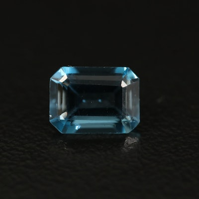 Loose 1.19 CTW London Blue Topaz