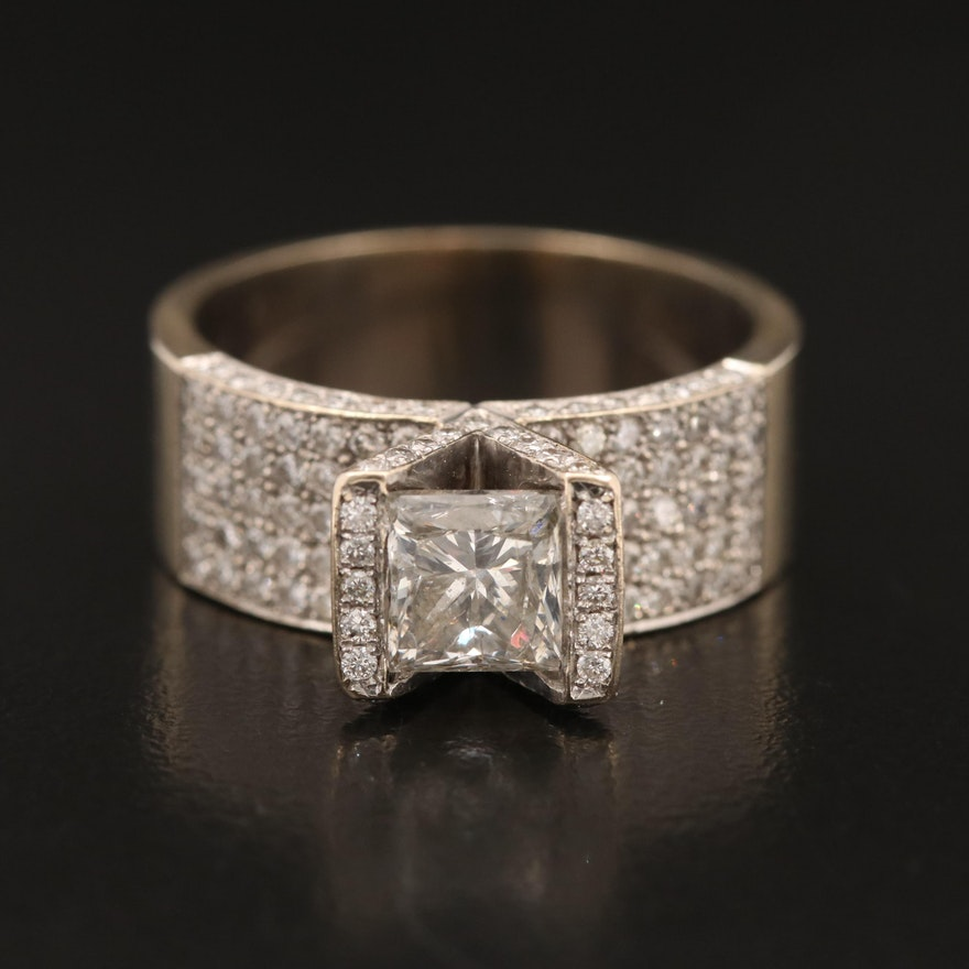 18K 2.58 CTW Diamond Ring