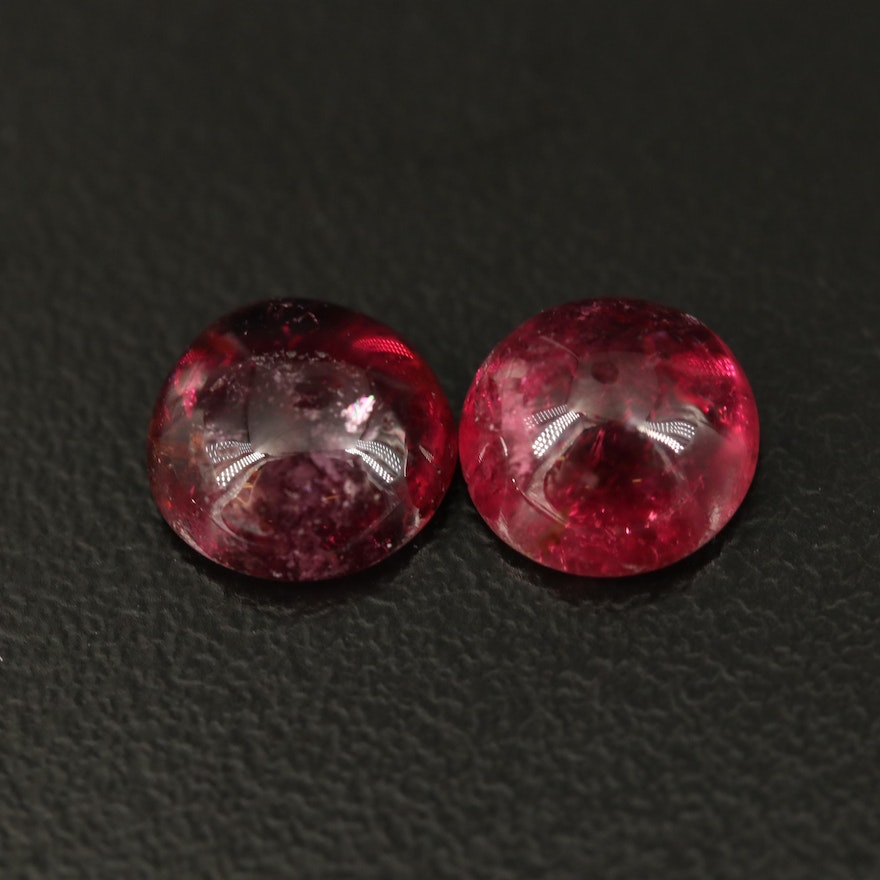 Loose 4.26 CTW Matched Pair Tourmalines