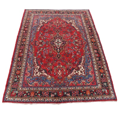 8'10 x 12'1 Hand-Knotted Persian Tabriz Room Sized Rug