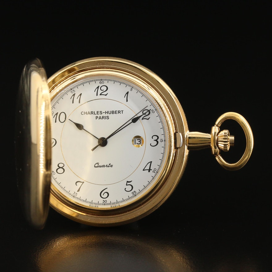 Charles-Hubert Paris Pocket Watch