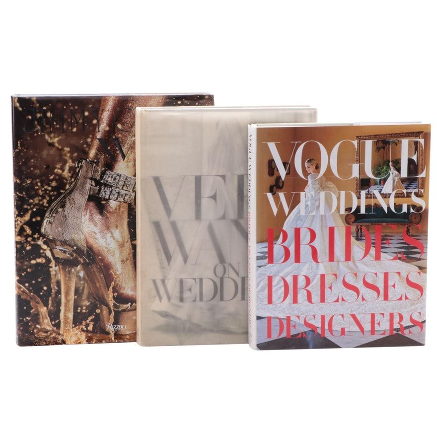 """Wedding Books Including """"Vogue Weddings: Brides, Dresses, Designers"""""""