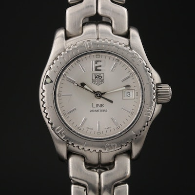 TAG Heuer Link Stainless Steel 200 Meters Wristwatch
