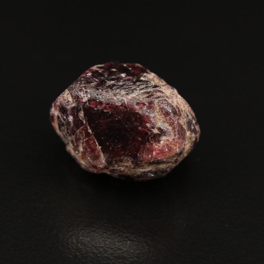 Loose 22.53 Rough Cut Garnet