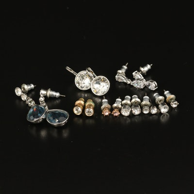 Swaroski Rhinestone and Crystal Earring Assortment